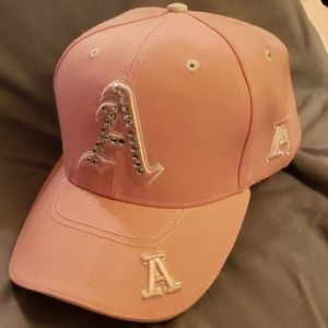 "Women's Jeweled ""A"" baseball hat"